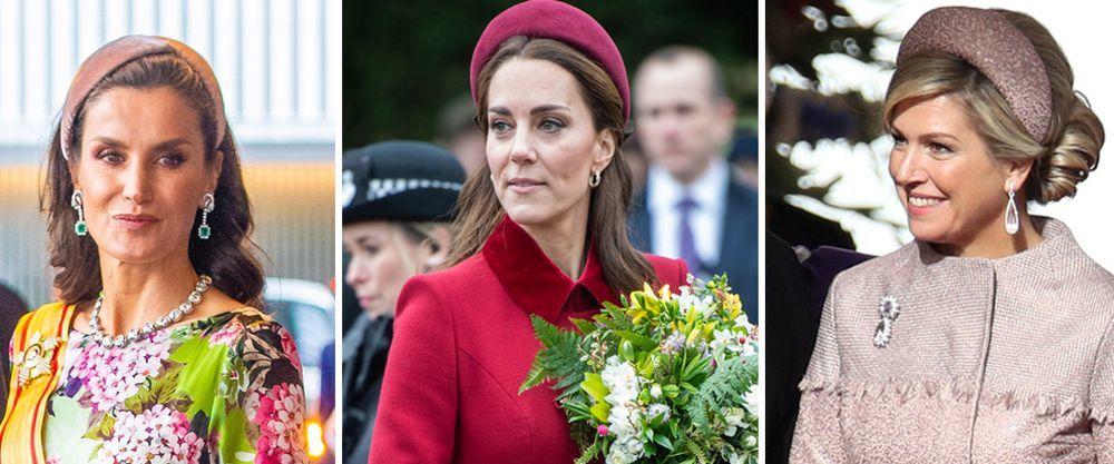 La diadema, el accesorio favorito de las royals.