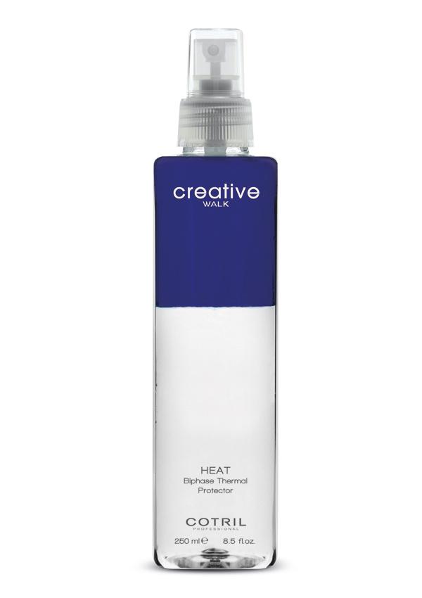 Heat de Cotril (17,25 euros). Spray protector que protege el cabello de las herramientas de calor, con efecto antitérmico y antiestático, ayuda a evitar las puntas abiertas, así como el encrespamiento del cabello y otros daños que provocan los secadores, rizadores y planchas.