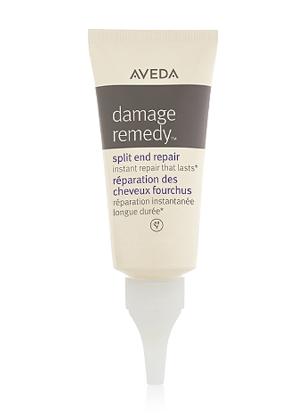 Tratamiento para las puntas abiertas Damage Remedy Split End Repair de Aveda.