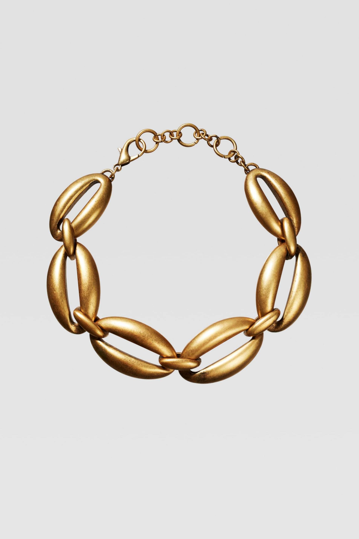 Collar de eslabones ovalados de Zara