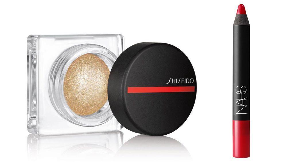 Iluminador para ojos, rostro y labios Aura Dew de Shiseido (34 euros);...