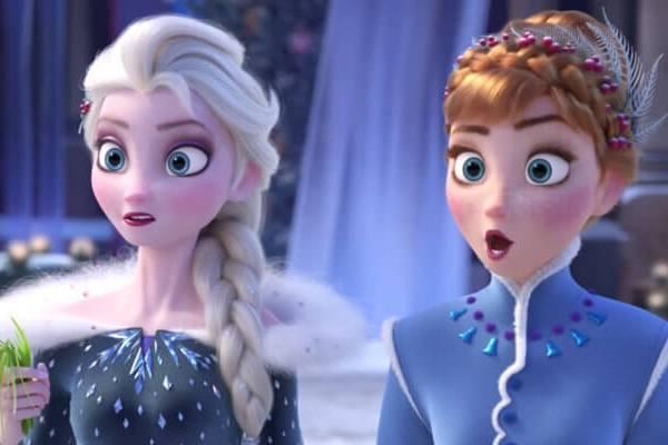 Fotograma de Frozen 2.
