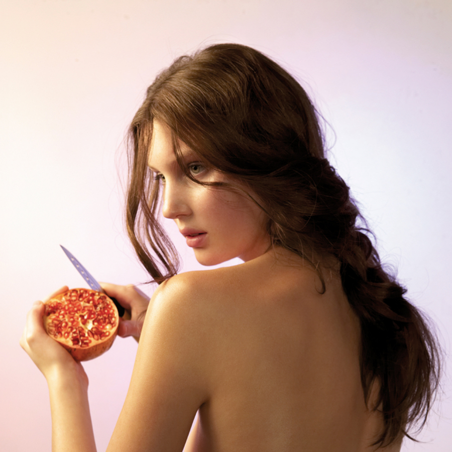 La granada es una fruta saciante baja en calorías