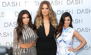 Kim, Khloé y Kourtney Kardashian.