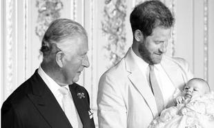 La felicitación del príncipe Harry al príncipe Carlos, compartida...