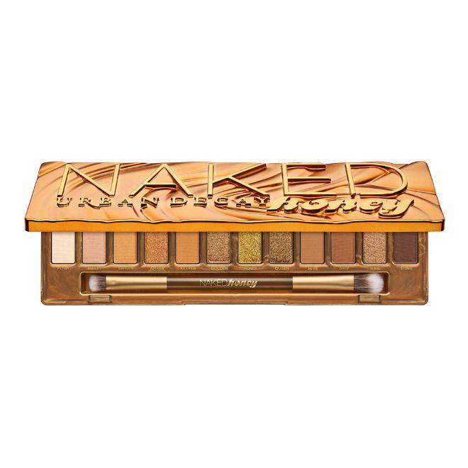 Naked Honey Palette, de Urban Decay (52 euros). Con doce exclusivos tonos, desde neutros a dorados.