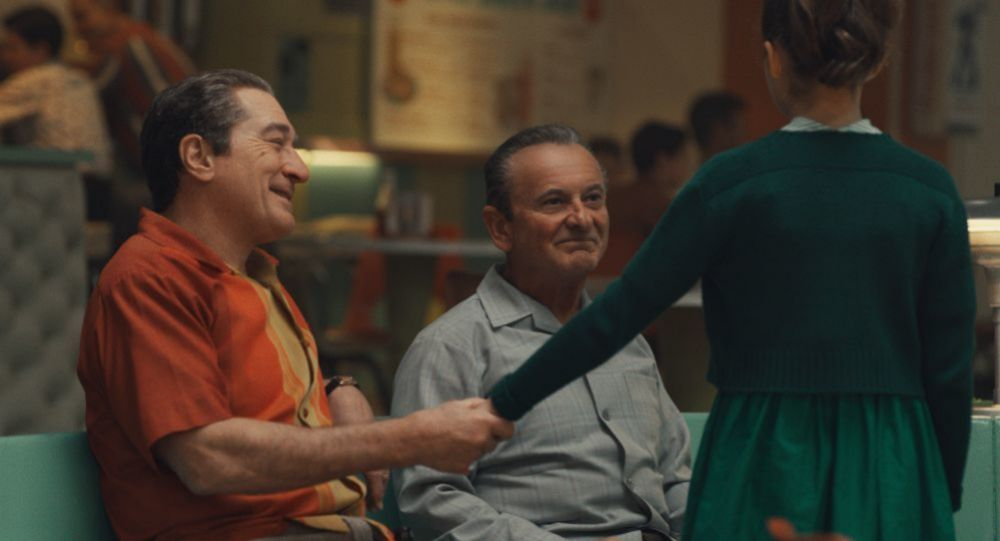 Robert De Niro y Joe Pesci en El irlandés