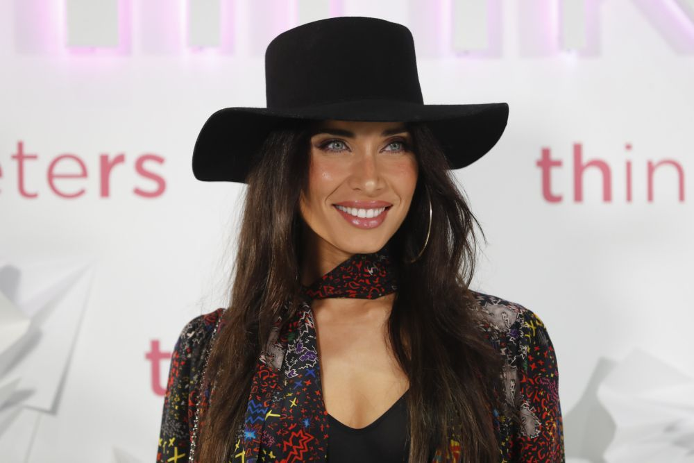 Pilar Rubio con las mechas low lights.