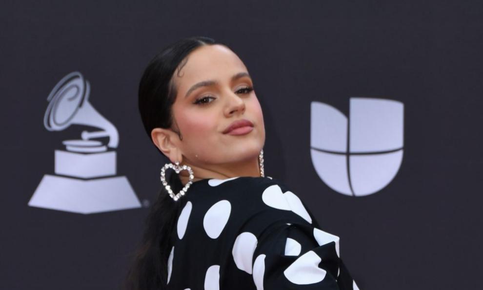 Rosalía en la reciente gala de los Grammy latinos