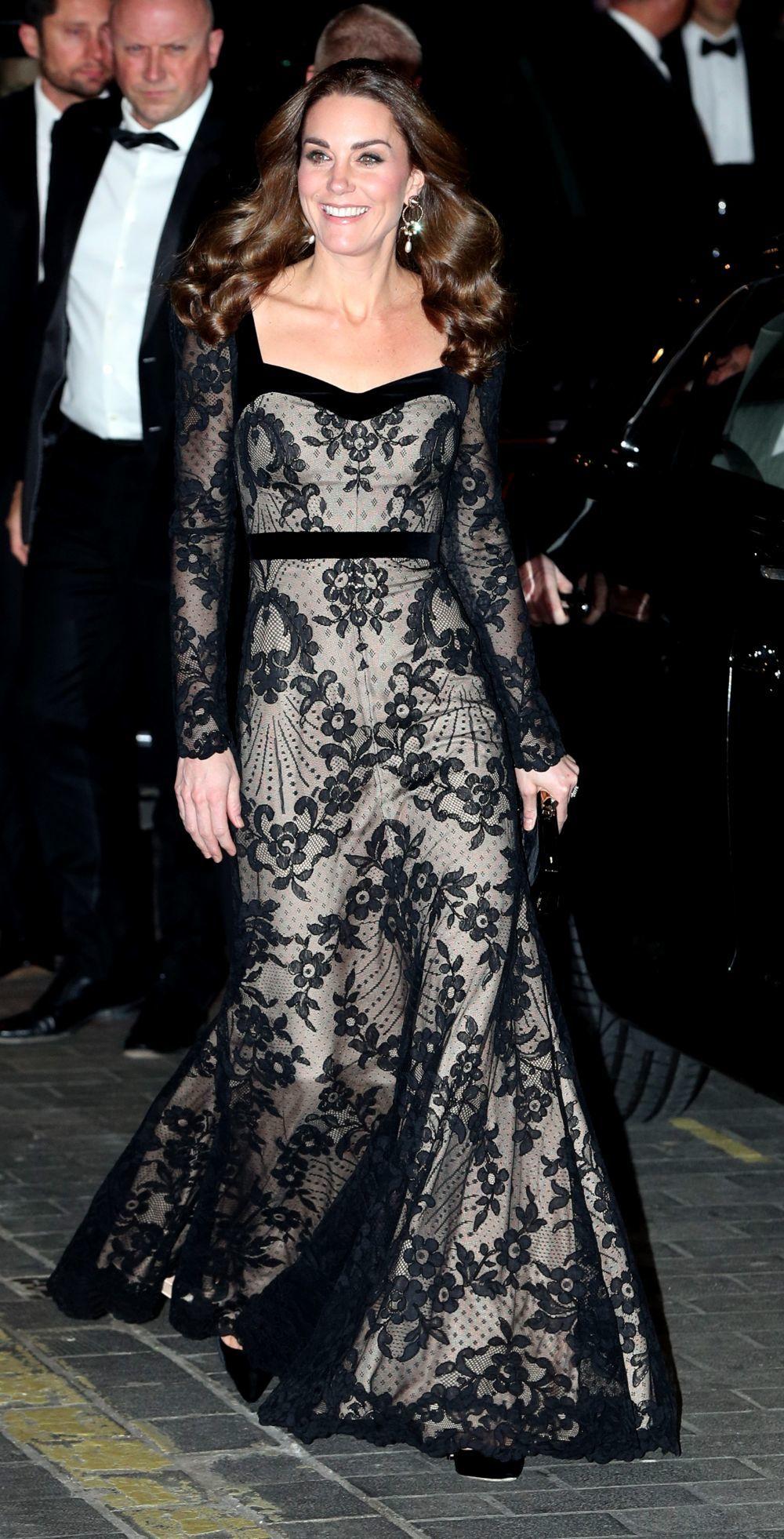 La duquesa de Cambridge  invitada de lujo en la Royal Variety