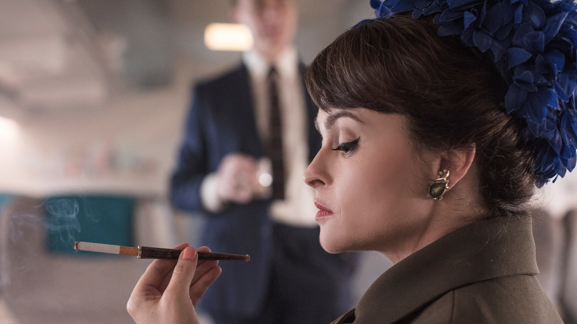 Helena Bohan Carter, en The Crown 3.
