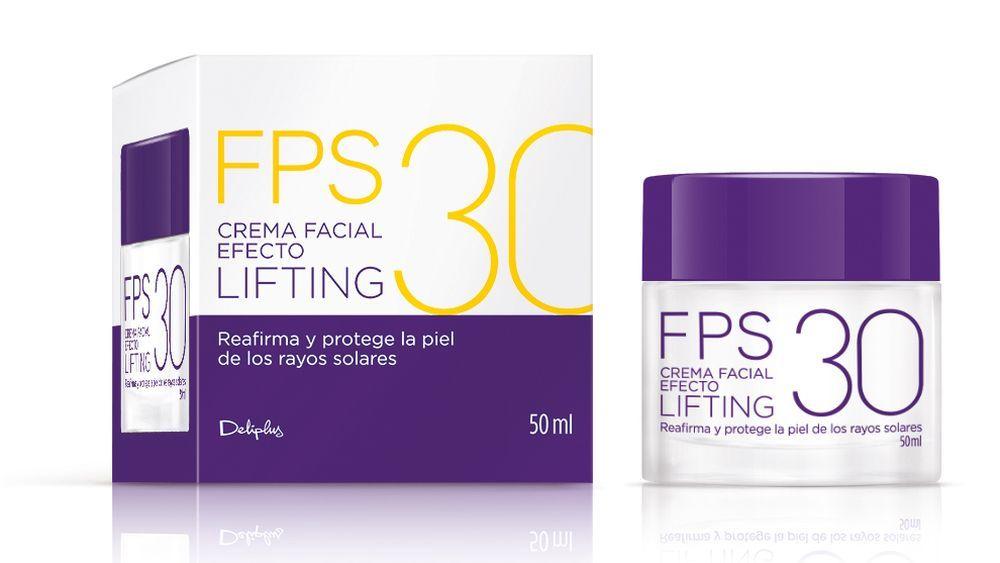 Crema facial efecto lifting FPS 30 de RNB Cosmetics.