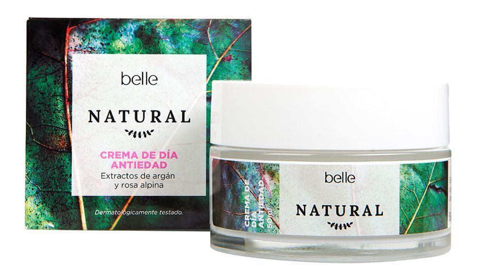 Crema antiedad Natural Belle que triunfa en Eroski.