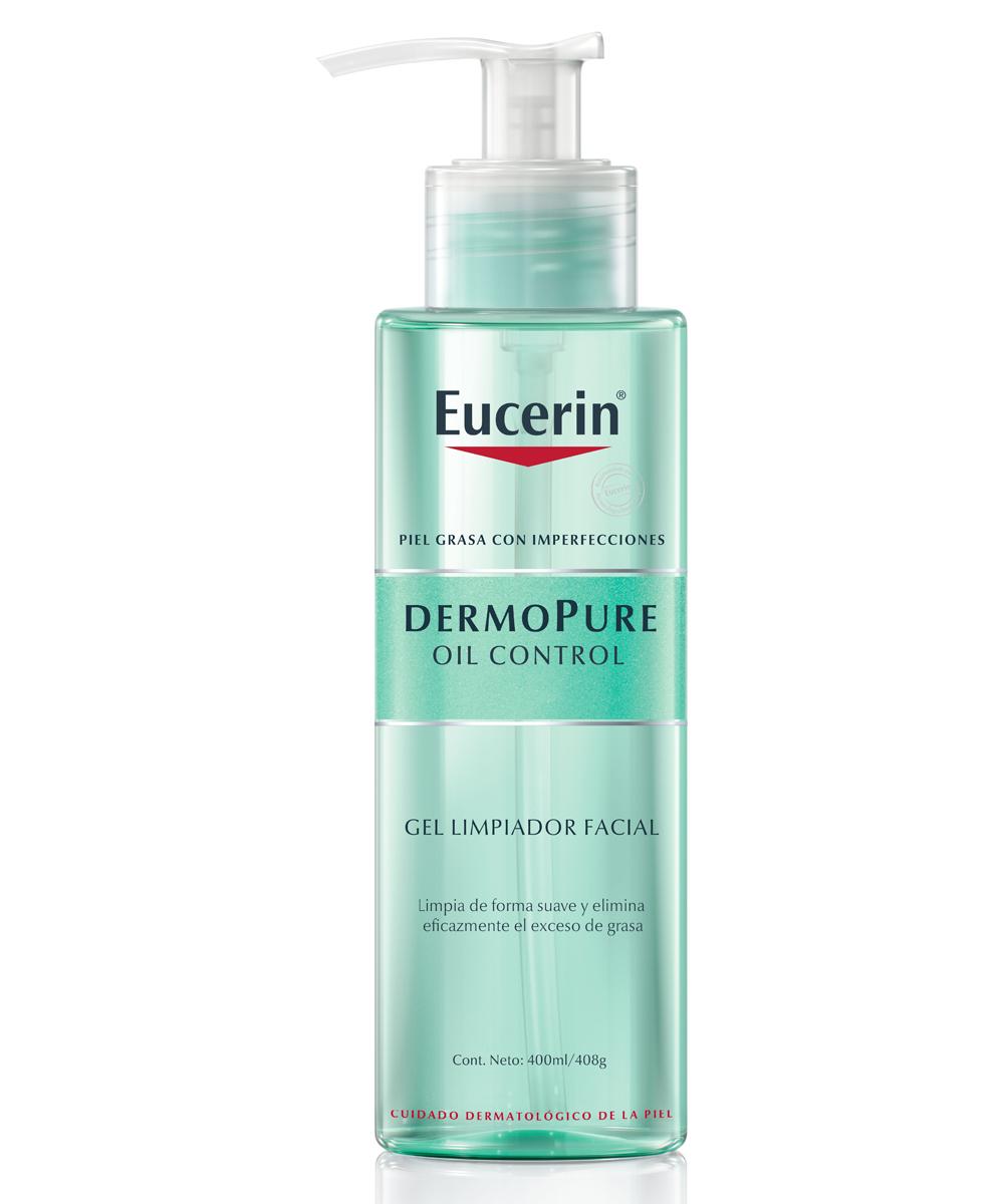 Eucerin Dermopure Oil Control Gel Limpiador (15,40 euros), sin jabón ni fragancias, para una limpieza suave, pero efectiva de las pieles con acné.