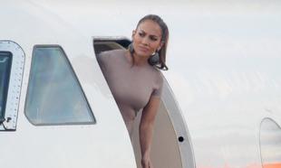 Jennifer López hace tiempo que tiene su propio jet privado.
