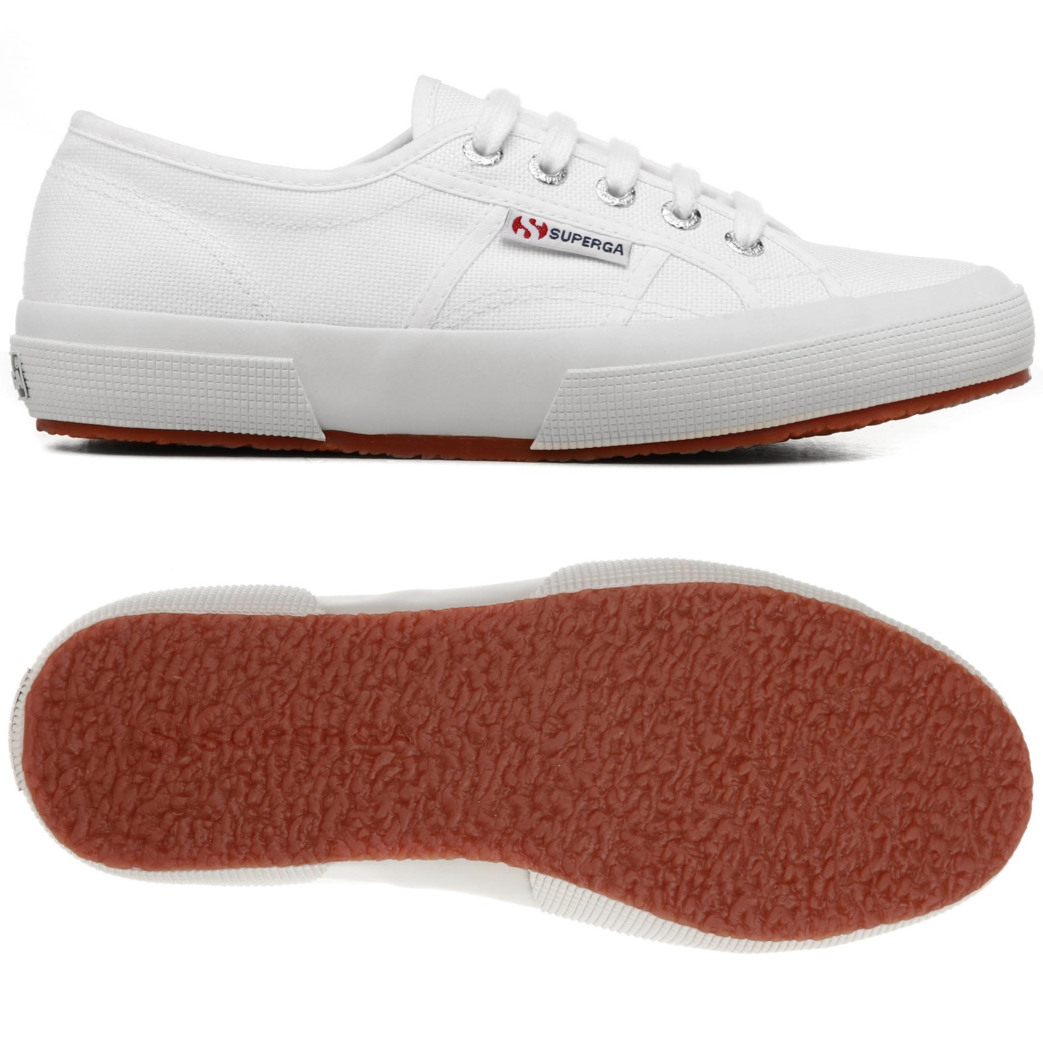 Zapatillas blancas clásicas de Superga