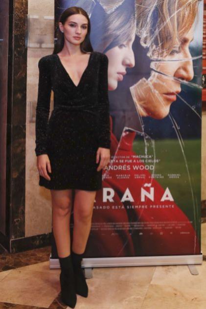 María Valverde en la premiere de Araña, con piezas de Bulgari
