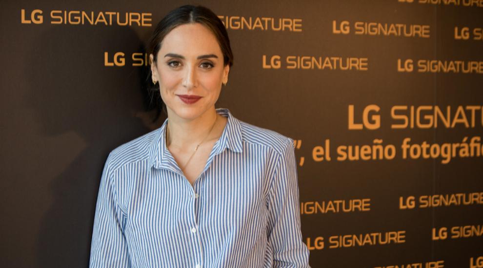 Tamara Falcó, embajadora de LG SIGNATURE
