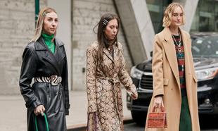 Algunos de los estilismos que vimos en el street style de Nueva York...