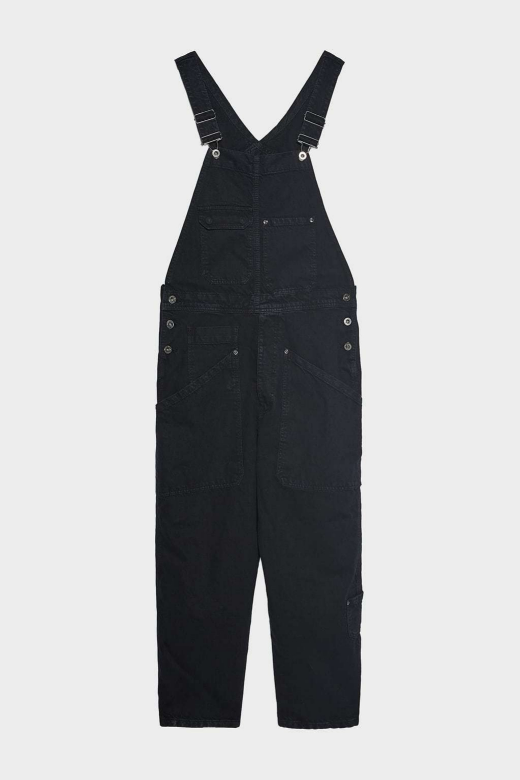 Peto denim tipo worker de Zara