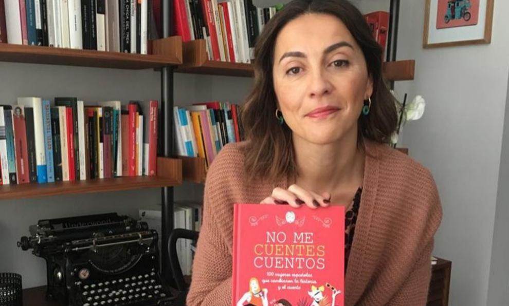 Charo Marcos, una de las promotoras del libro.