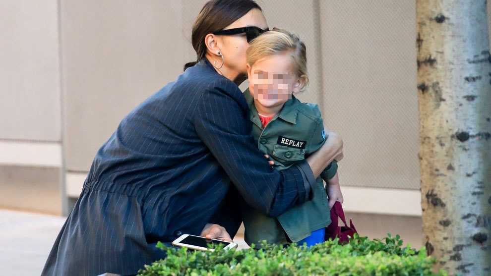 Irina Shayk junto a su hija Lea De Seine