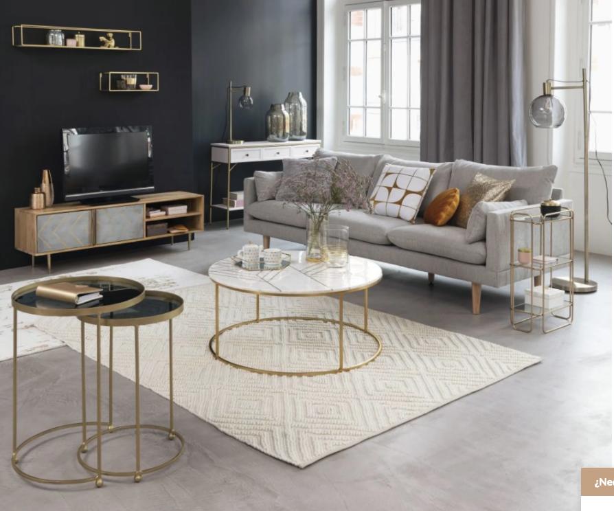 Collins, sofá de tres plazas de Maisons du Monde (599 euros)