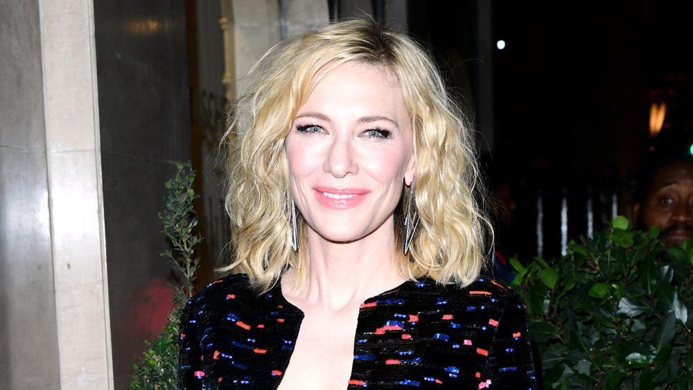 Cate Blanchett luce un long bob con ondas texturizadas y nos encanta...