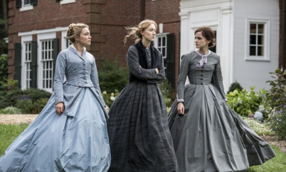 """Florence Pugh, Saoirse Ronan y Emma Watson en """"Mujercitas"""", la nueva..."""