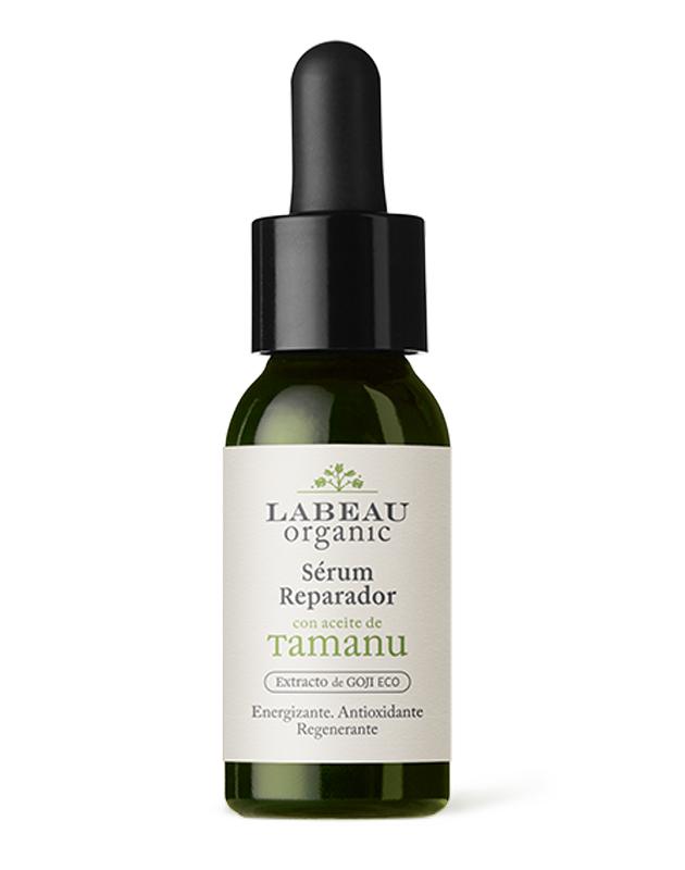 Sérum reparador con aceite de Tamanu (30 euros) de Labeau Organic.