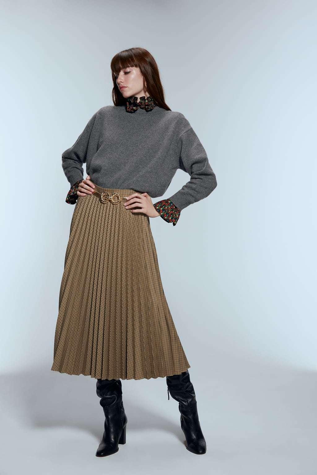 Imagen de la web de Zara.