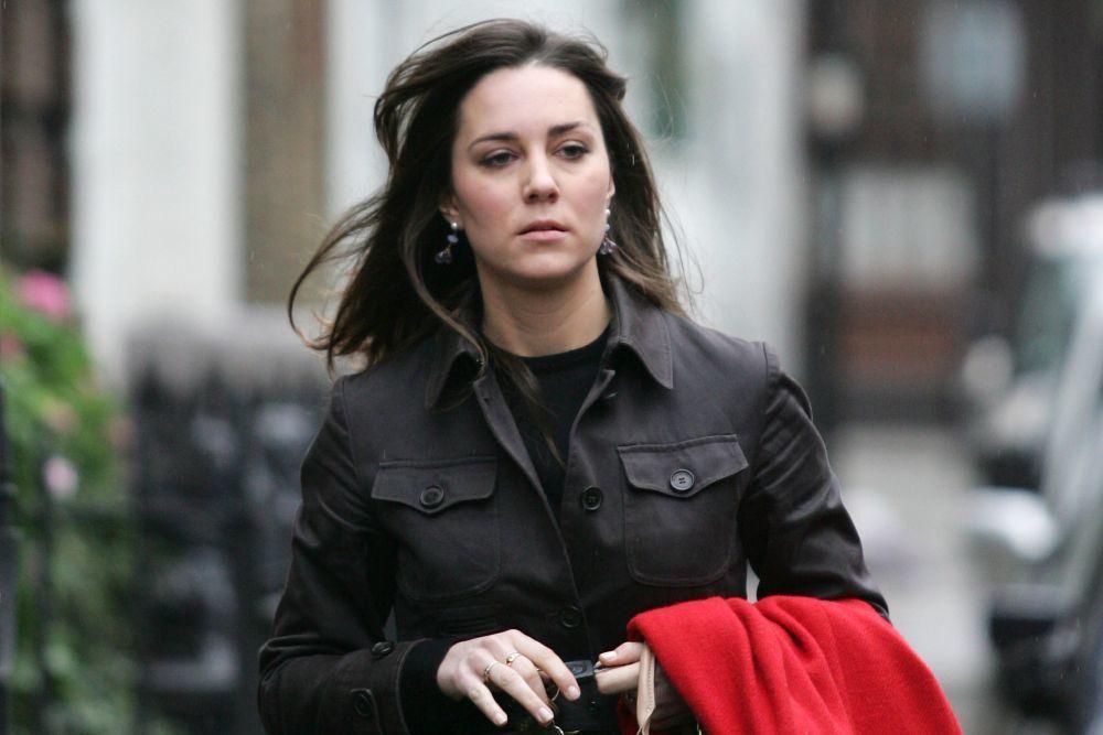 Kate Middleton no ha tenido ningún prejuicio a la hora de salir a la calle sin maquillaje aunque ahora ya no tanto.