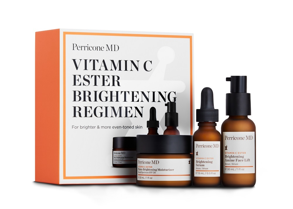 Vitamin C Ester Brightening Regimen