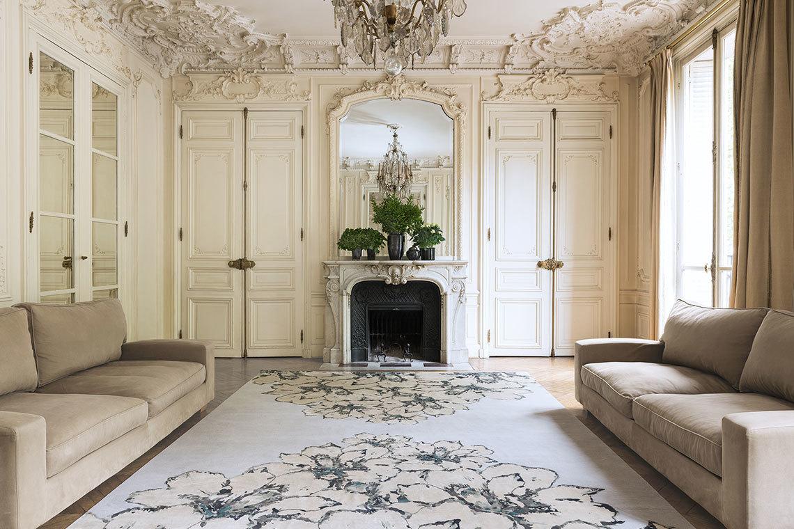 lfombra In bloom de Elie Saab para The Rug Company
