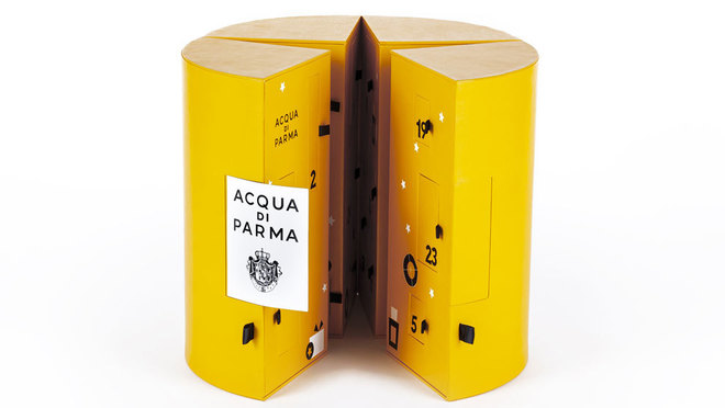 Acqua di Parma presenta su primer calendario de adviento este año con...