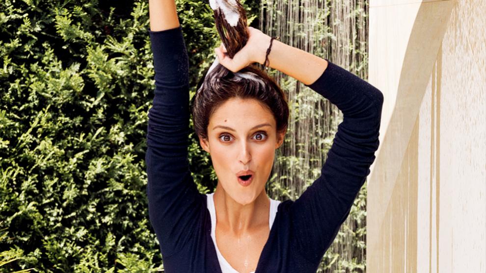 Andrea Molina sigue los consejos de los expertos para cuidar su pelo.