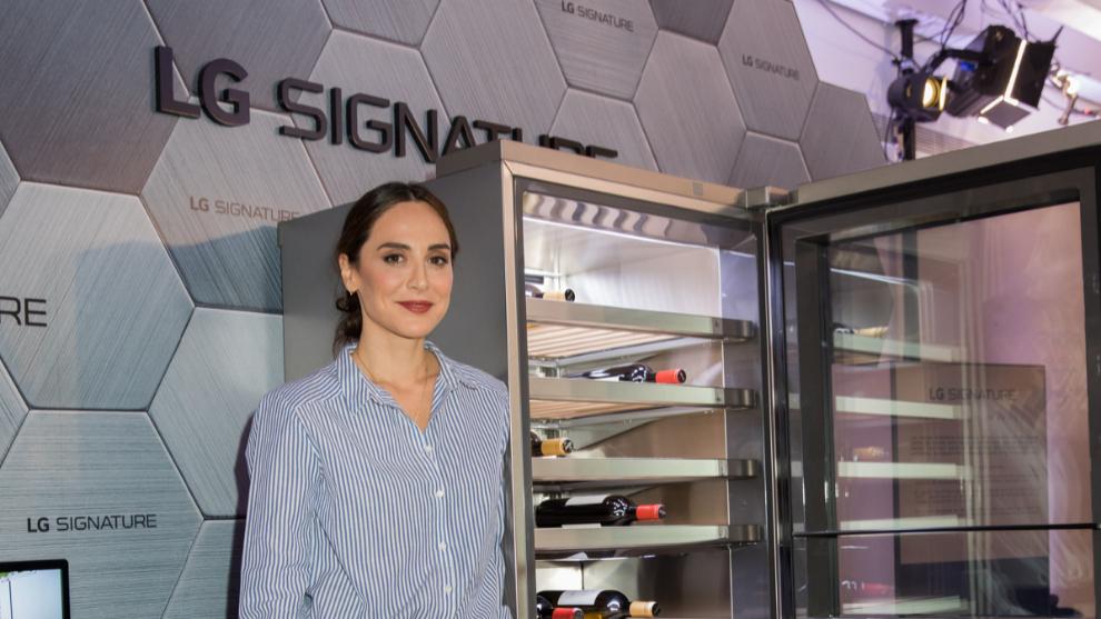 Tamara Falcó, embajadora de LG Signature desde hace 3 años