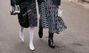 Algunos de los zapatos que hemos visto en el street style de...