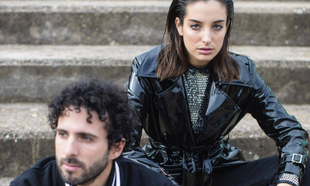 Sandra Delaporte y Sergio Salvi en la imagen de presentación de su...