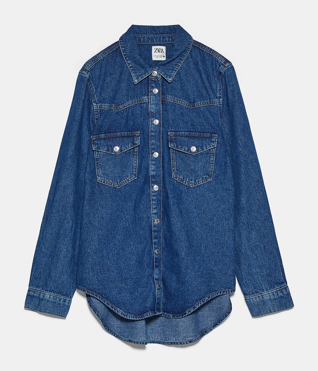 Camisa vaquera de Zara