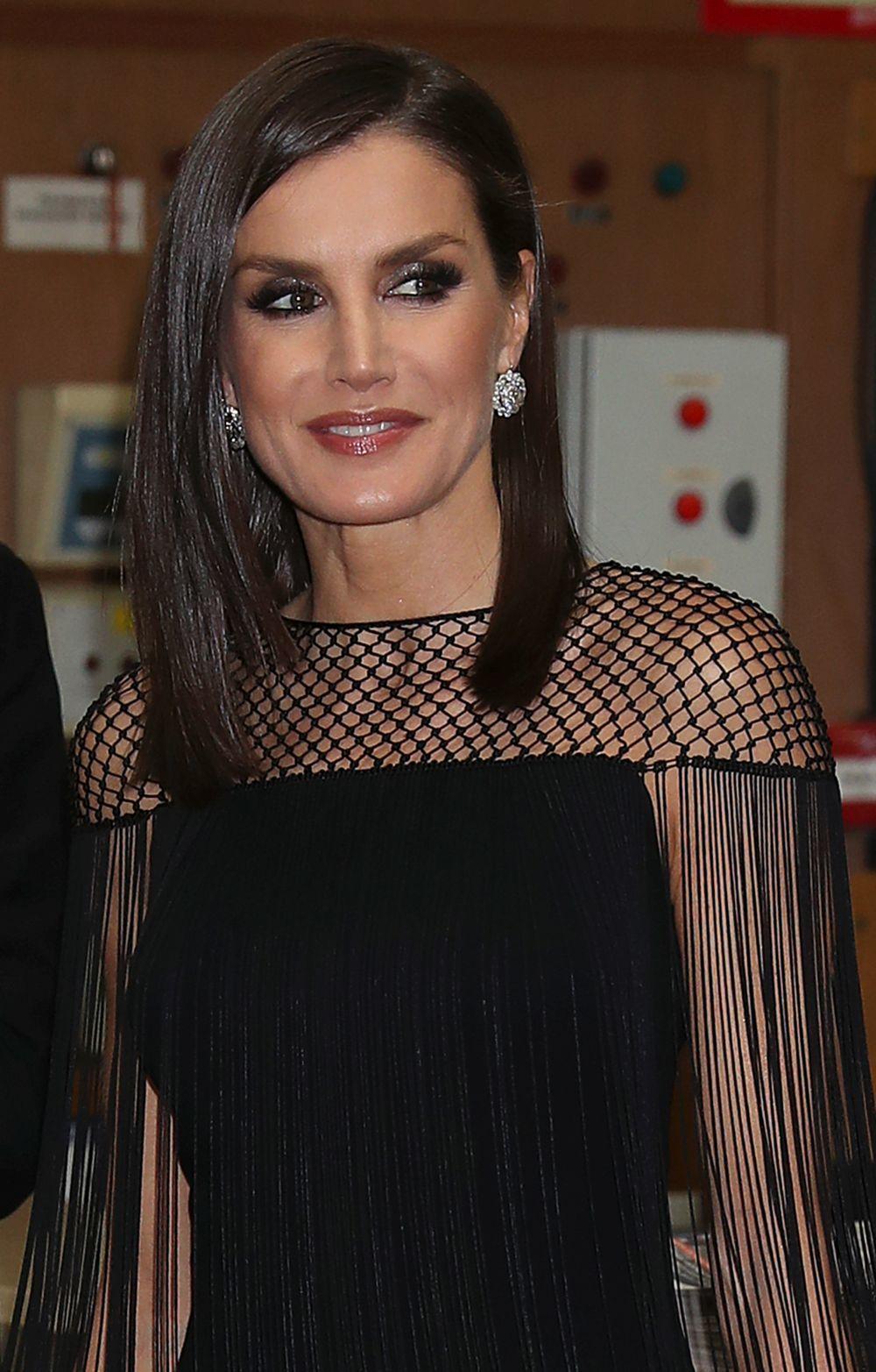 La reina Letizia en los Premios Internacionales de Periodismo de ABC:...