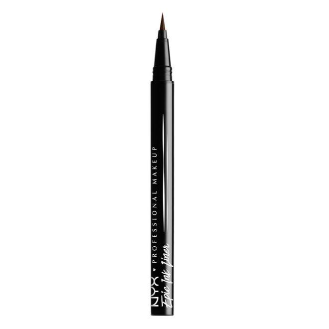 Epic Ink Liner, de NYX Cosmetics (9,90 euros). Eyeliner en rotulador, resistente al agua y en marrón.