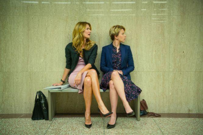 Scarlett Johansson y Laura Dern