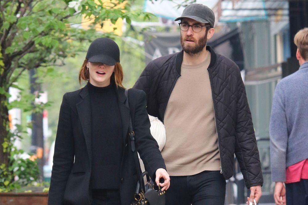 Emma Stone y Dave NcCary.