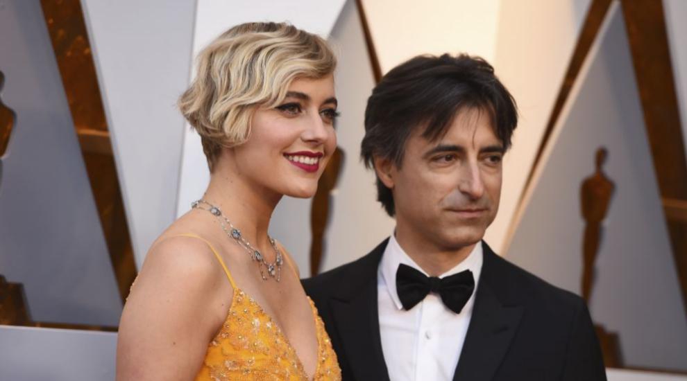 Noah Baumbach y su mujer, la actriz y directora Greta Gerwig.