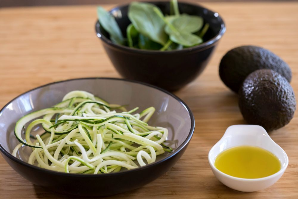 Las frutas, las verduras y las grasas saludables son fundamental en...