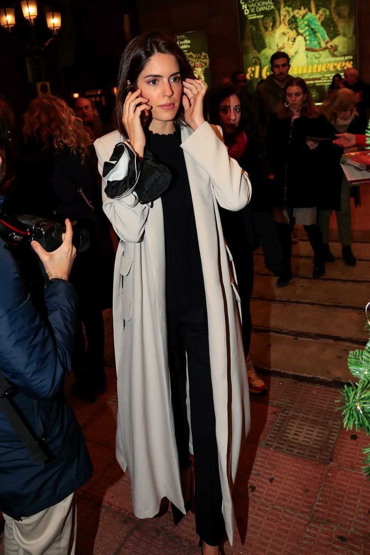 Sofía Palazuelo con abrigo XL.