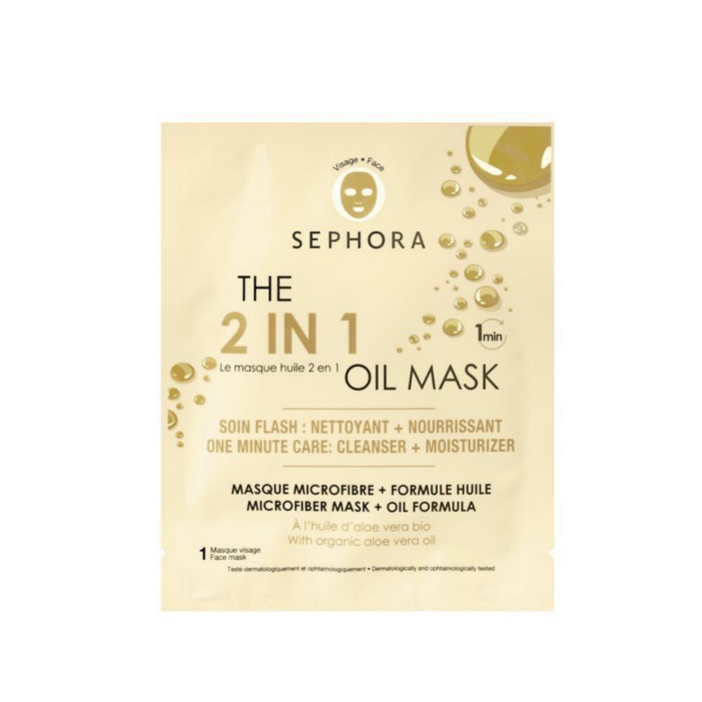 The 2 in 1 oil mask, Sephora Collection. Mascarilla con Aceite 2 en 1....