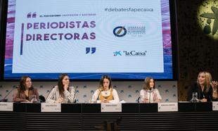 Olga Ruiz, directora de Telva,  Anna Cristeto, directora de El...