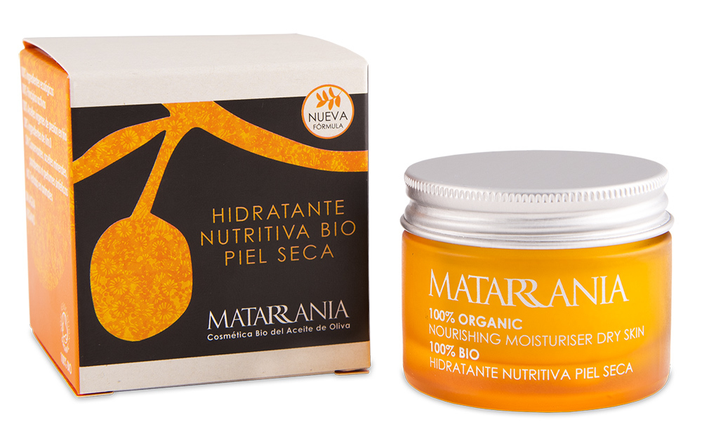 Hidratante Nutritiva Piel Seca de Matarrania (15,20 euros). Formulada...